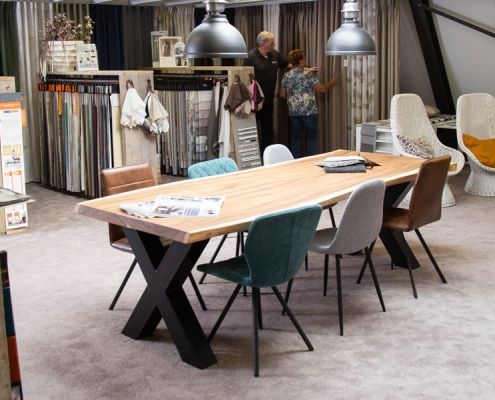 Showroom gordijnen