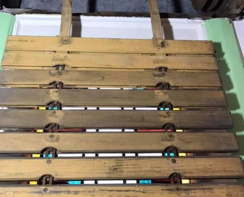 Rolluik ophangbanden