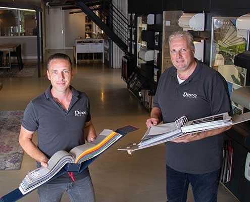 Gerwin Brands en André van der Horst - Deco Zonwering