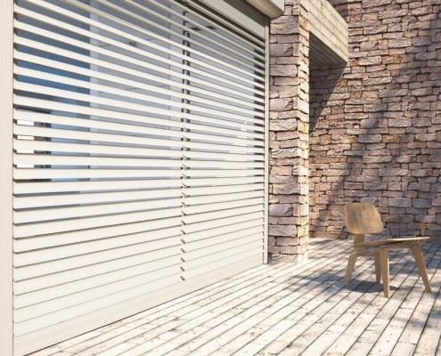 Solar jaloezie rolluik Deco Zonwering