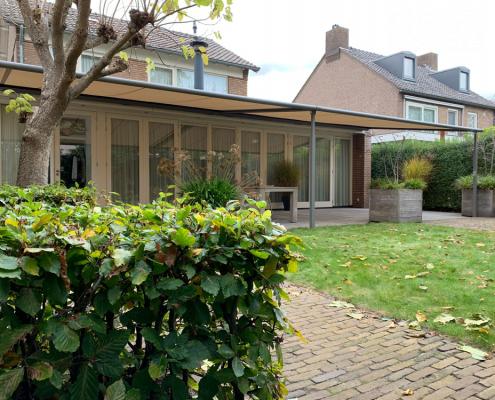 Weinor terrasoverkapping Den Bosch